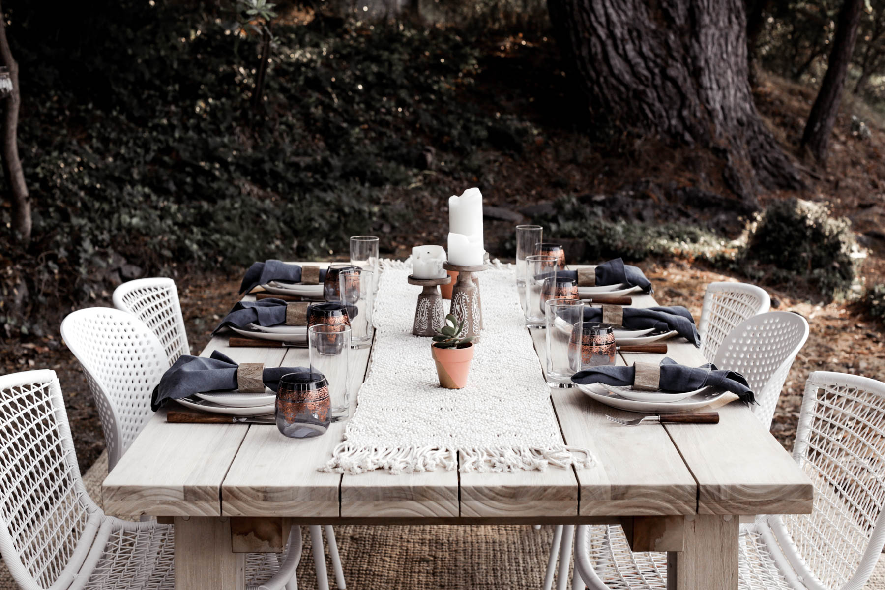 5 Tips for a Bohemian-Inspired Outdoor Dining Area