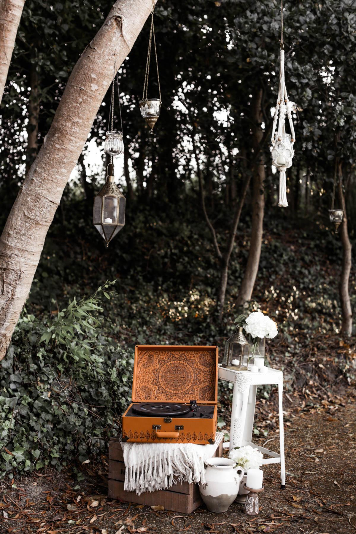 bohemian outdoor party ideas