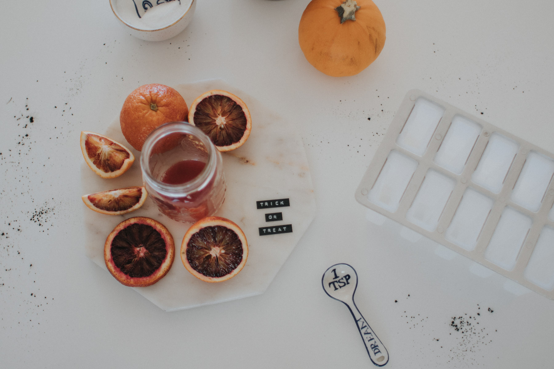 blood orange popsicles halloween recipe