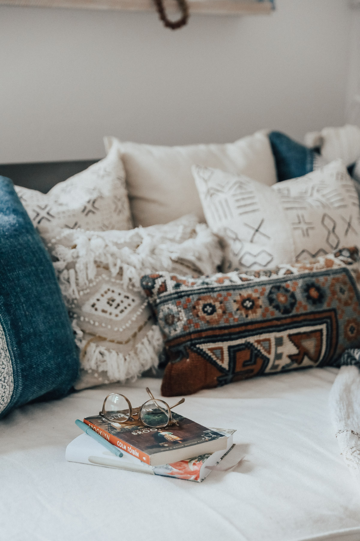 world market daybed with lulu & georgia pillows
