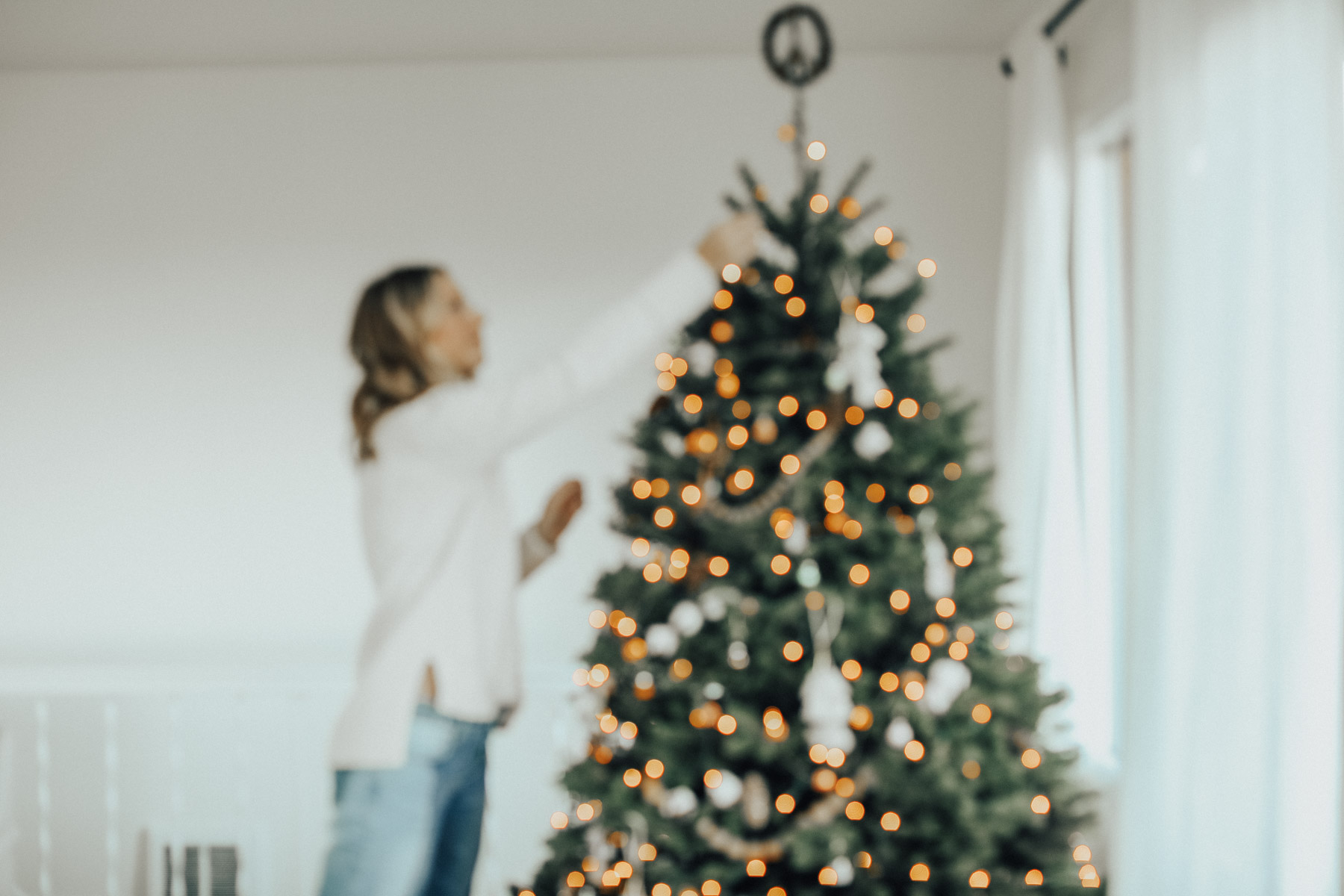 bohemian christmas tree on Advice from a 20 Something