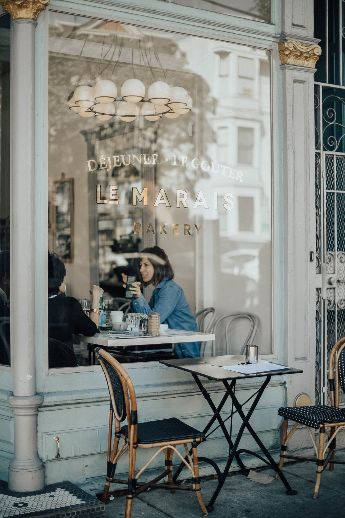 san francisco coffee shops le marais