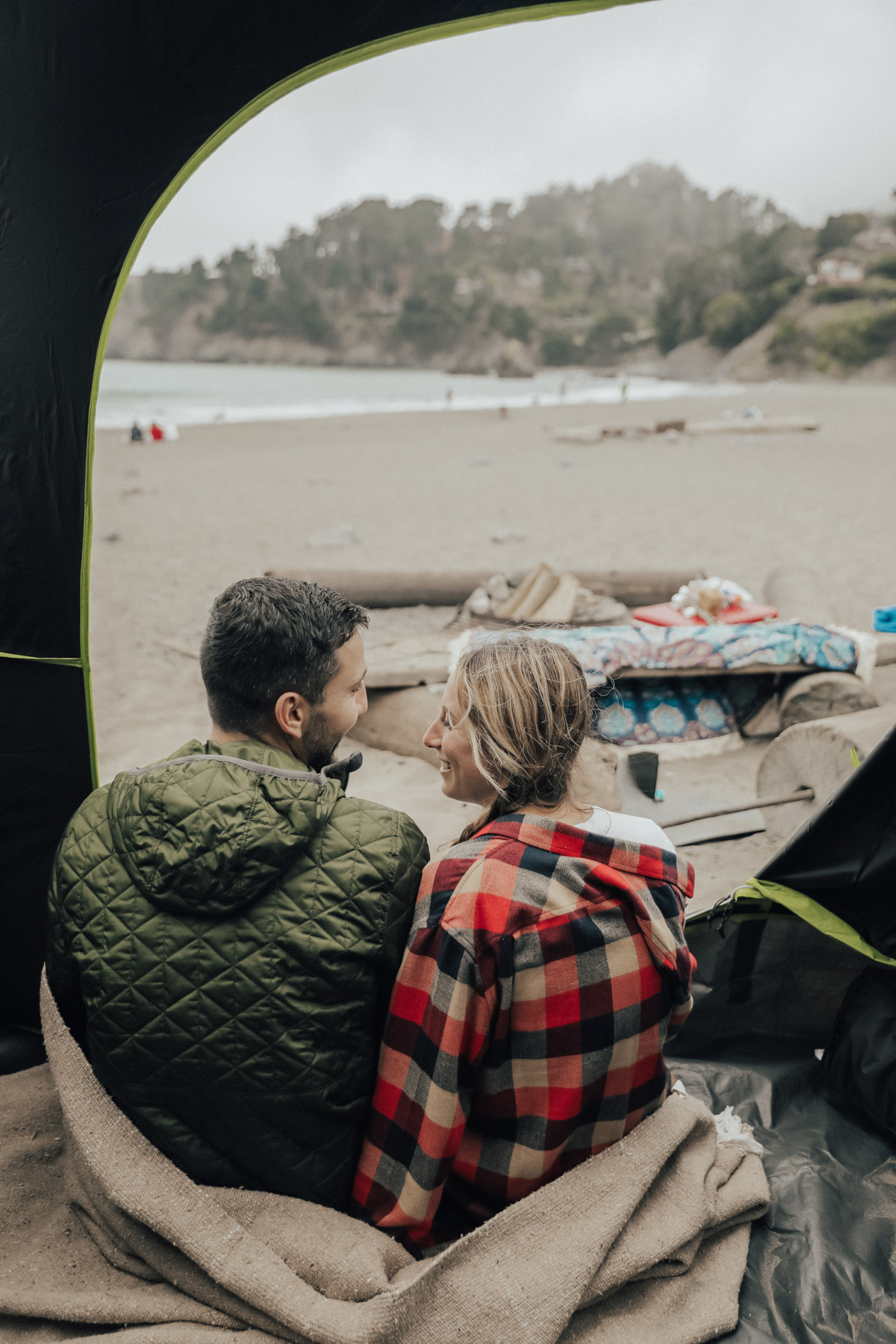 My Go-To Summer Activity: Beach Camping!