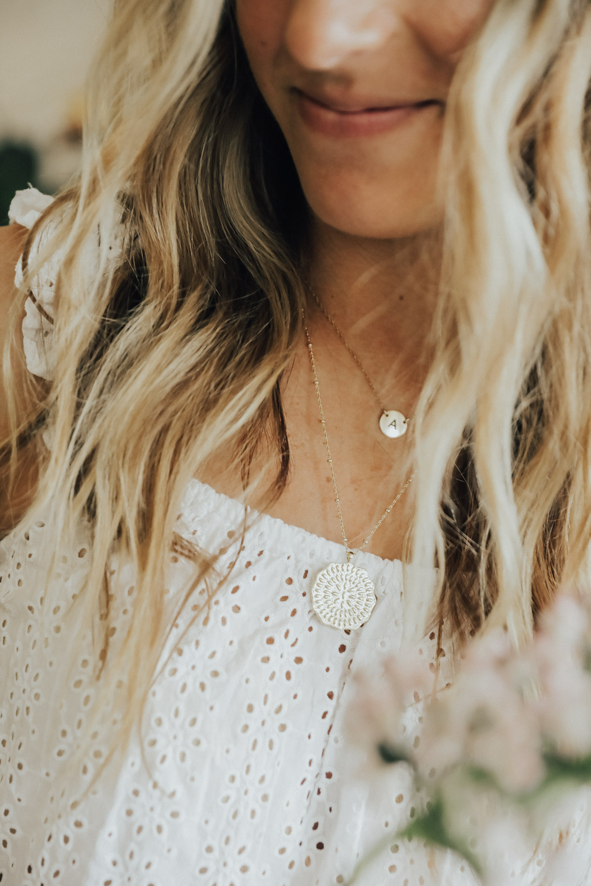 trunk club all white outfit madewell top