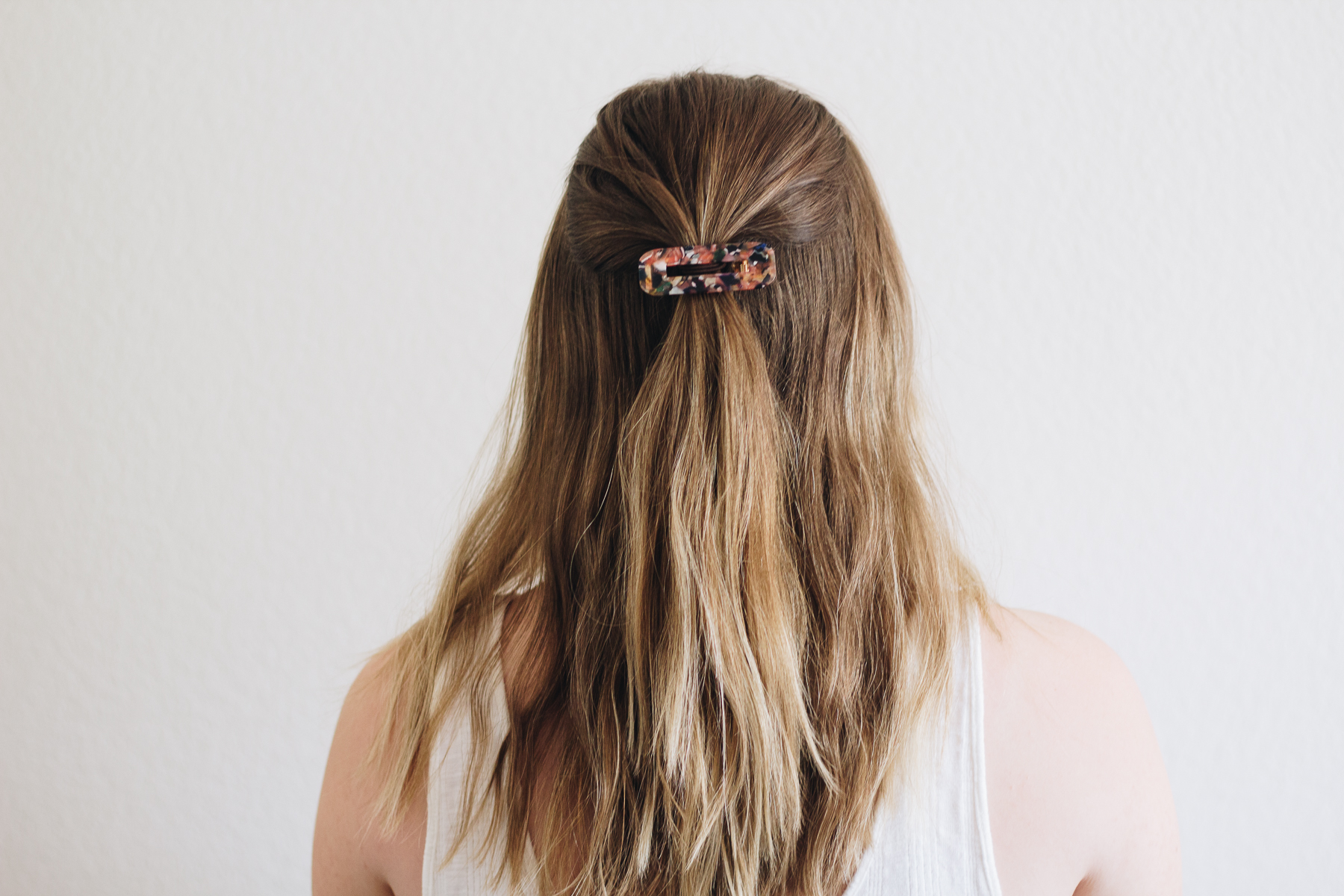 3-ways-to-style-air-dried-hair