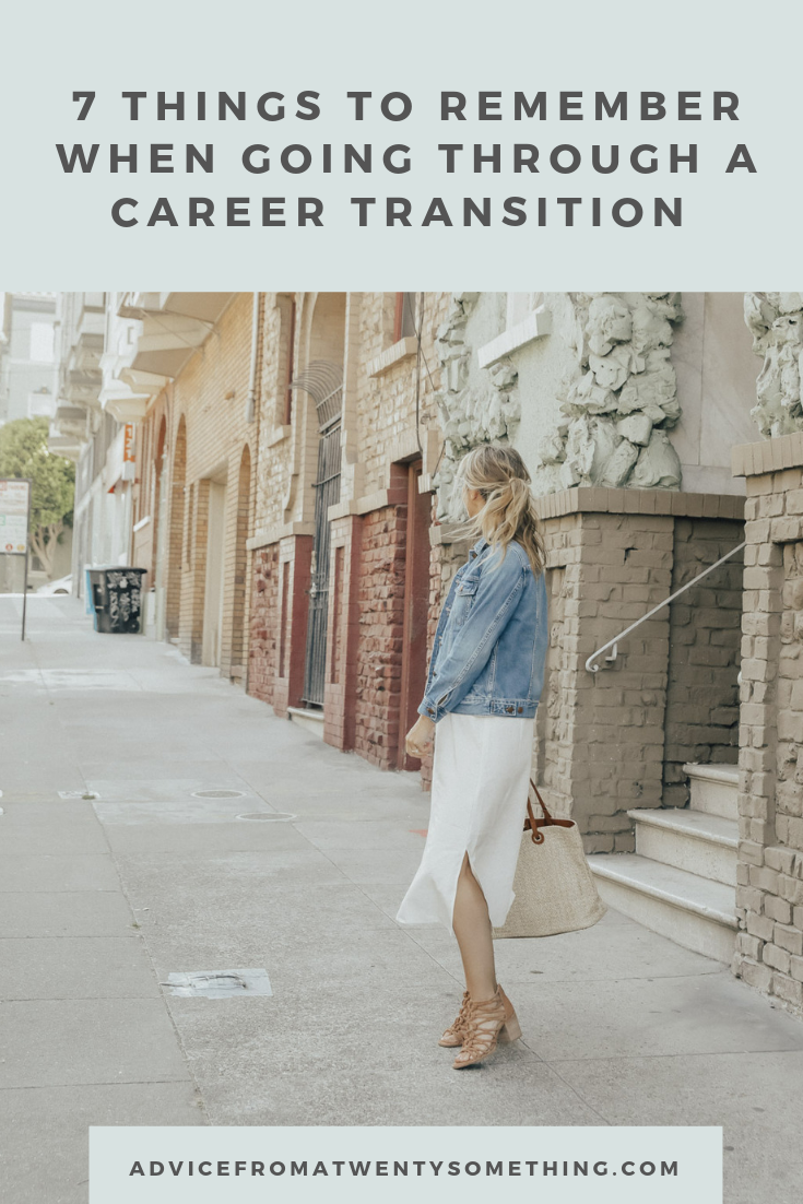 7 Things to Remember When Going Through a Career Transition Image