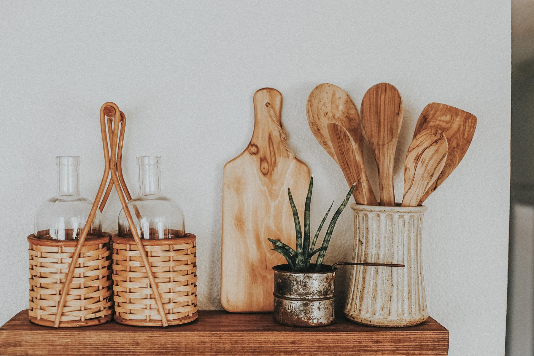 3 Tips for Styling Open Shelving in Your Kitchen