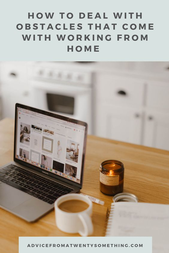 How to Deal with Obstacles that Come with Working From Home Image