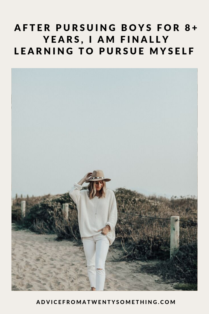 After Pursuing Boys For 8+ Years, I Am Finally Learning How to Pursue Myself Image