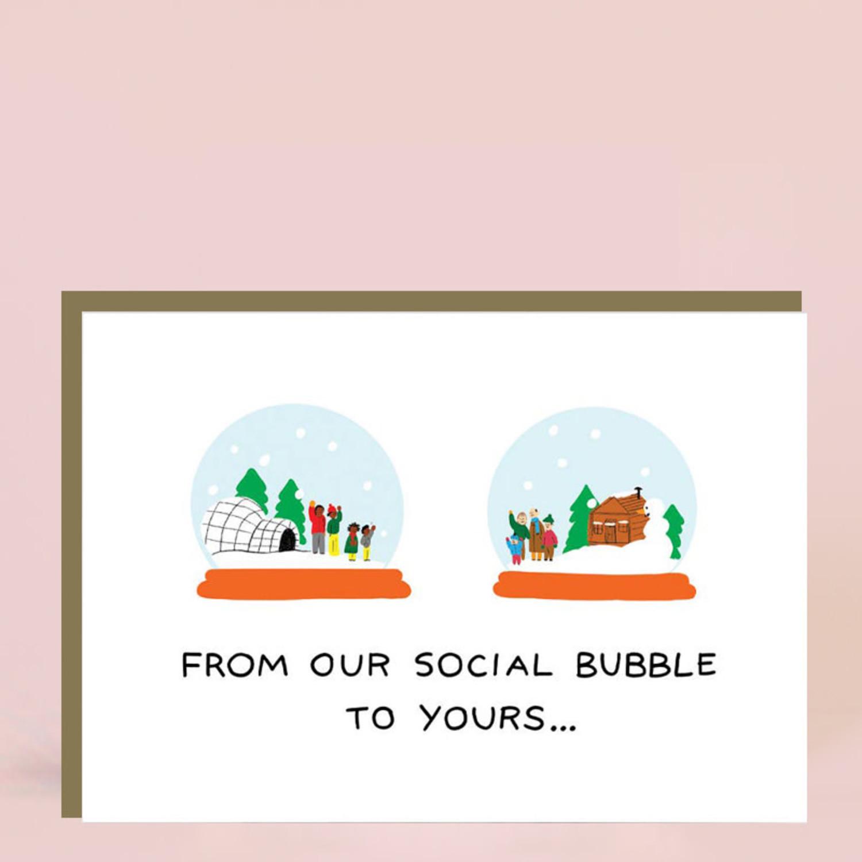 quarantine holiday card