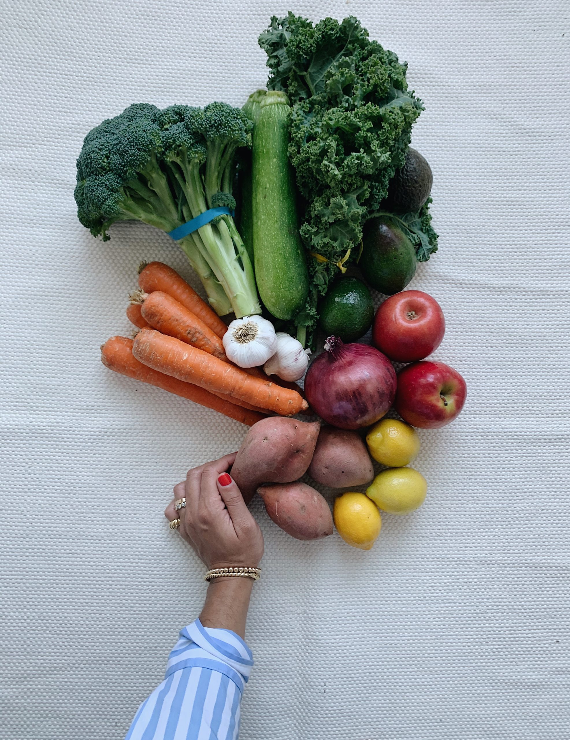 vegetable delivery